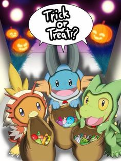 Pokemon trick or treat 3rd generation