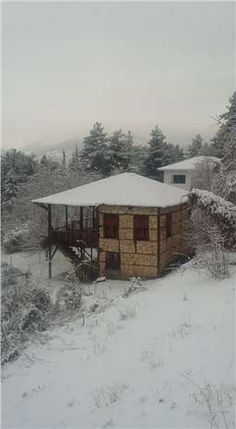Kar, Çamlıyayla'da bir başka güzel