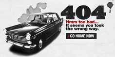 Hmm Too Bad... It Seems You Took The Wrong Turn 404 Error