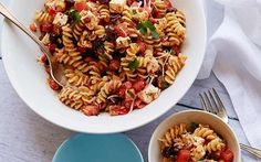 Tomato Feta Pasta Salad Recipe by Ina Garten