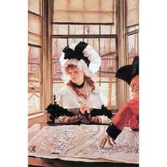 Buyenlarge 'A Tedious History' by James Tissot Painting Print
