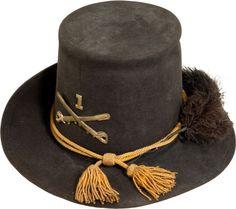 c0757075c05 US M1858 Cavalry Enlisted Man s Dress Hardee Hat. Bears insignia