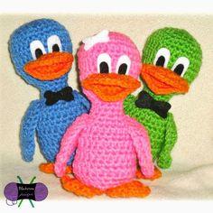 Crochet Easter Ducklings Stuffy free pattern: Blackstone Designs