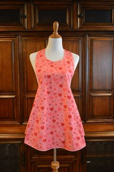 Valentine's Day Apron  One of a Kind Ready by NancysNeedfulThings