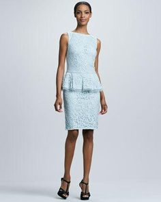 Tadashi Shoji #peplum #dress