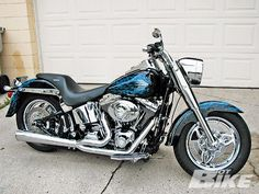 Harley Davidson Fat Boy  This ones for my baby !!!! :)