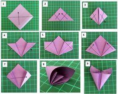 Como Hacer Origami Paso a Paso - Taringa!