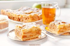 Szarlotka - Polish Apple Pie Gourmet Cooking, Apple Pie, French Toast, Polish, Breakfast, Sweet, Food, Morning Coffee, Candy