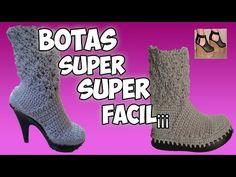 Knitting and Bordado Crochet Boots, Crochet Slippers, Crochet Baby, Knit Crochet, Crochet Crafts, Crochet Projects, Diy Jewlry, Shoe Pattern, Baymax
