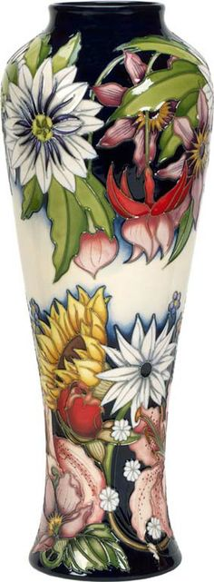 Moorcroft Sandbach Bouquet Vase.