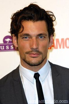 David Gandy arrives at the Glamour Women of the Year Awards 2009 at Berkeley Square Gardens on June 2, 2009 in London, England. (Photo by Gareth Cattermole/Getty Images)