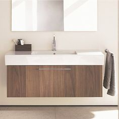 Duravit Fogo Unit Bathroom Vanity - modern - bathroom vanities and sink consoles - other metro - Fixture Universe