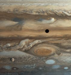 Europa over Jupiter's Great Red Spot | Planetary Society (@exploreplanets) | Twitter