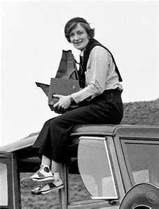 Dorthea Lange - amazing documentarian of the depression and all out great gal
