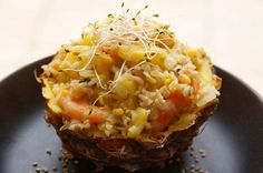Baked Potato, Pineapple, Potatoes, Baking, Vegetables, Healthy, Ethnic Recipes, Food, Mung Bean