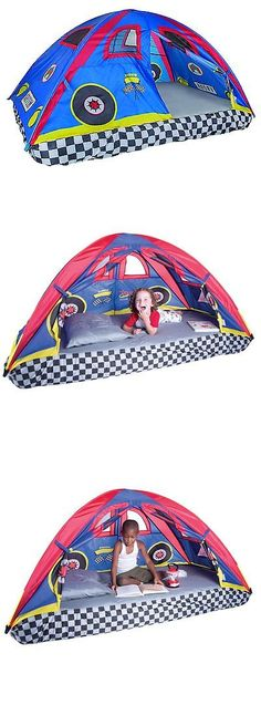 Play Tents 145997 Pacific Play Tents Rad Racer Bed Tent Great For All Occasions For  sc 1 st  Pinterest & Play Tents 145997: Pacific Play Tents Kids Secret Castle Bed Tent ...