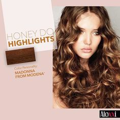 Honey, highlights are a definite DO! ALOXXI: #hair #instahair #hairofinstagram #goodhairday #hairtrend #beautyproducts #beautytip #beauty #blonde #brunette #redhead #hairstylist #colorist #hairstyle #haircare #haircolor #haircolorist #hairdresser #color #salon #aloxxi #whatsyourcolorpersonality