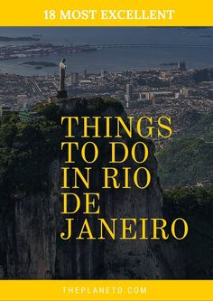 The Very Best Things to do in Rio de Janeiro, Brazil!