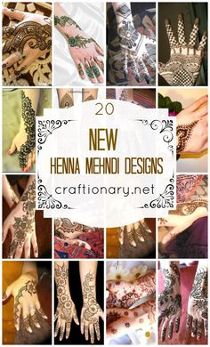 Henna mehndi designs #mehndi #henna. I love henna and if I were a little younger, lol, I'd have this done. These are designs, so if you want this done, just print it out.