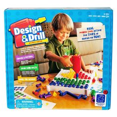Learning Resources EI-4112 - Design und Drill Schraubbrett: Amazon.de: Spielzeug