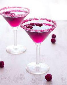 Kaila's Place | Very Pink Raspberry Cosmopolitan
