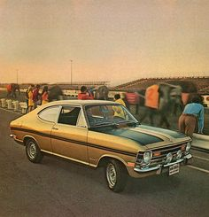 1968 Buick Opel Kadett Rallye | Or the GM Rallye Kadett, as Buick called it too.