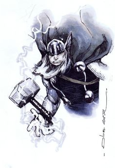 Thor by Olivier Coipel