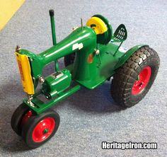 """Sewing machine """"tractor."""" #HeritageIron"""