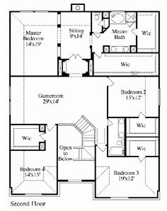 Longhorn floor plan, second floor Second Floor, House Plans, Floor Plans, Flooring, How To Plan, Nice, Design, Hardwood Floor, House Floor Plans