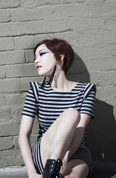son gain | Tumblr Creative Inspiration, Makeup Inspiration, Ga In, Brown Eyed Girls, Asian Makeup, Kpop Girls, Korean Girl, Sons, Street Wear