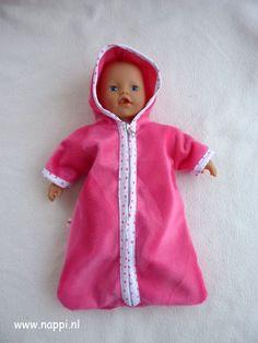 Diversen / My little Baby Born 32 cm | Nappi.nl Reisslaapzak, patroon Christel Dekker