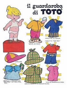 ITALIAN Il guardaroba di TOTÓ >>>>><<<<< ENGLISH MASTINIE's Wardrobe