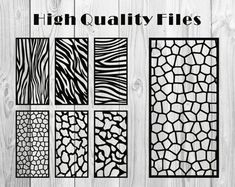 Natural Pattern / Panel Templates / Vector File. The best image 2