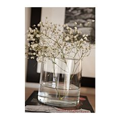 CYLINDER Vase/bowl, set of 3 IKEA Can be stacked inside one another to save room when storing.
