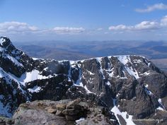 View over the North Face, Ben Nevis - Mountain Freedom