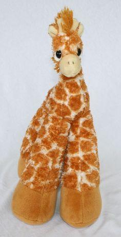 """Bestever  Giraffe Plush 13"""" stuffed animal Adventures Inc Nursery decoration #Bestever"""
