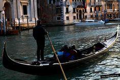 Góndola... en Venecia.