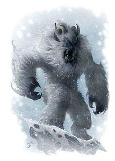 Beyond that yetis can be found in just about every other tabletop rpg and fantasy wargame to date.
