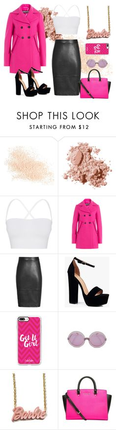 """""""Barbie Chick"""" by beulah-ira-corpuz on Polyvore featuring Eve Lom, Bobbi Brown Cosmetics, Theory, Rochas, Boohoo, Casetify, Wildfox, MICHAEL Michael Kors and black"""