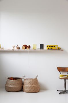 Minimal and beautiful kids rooms