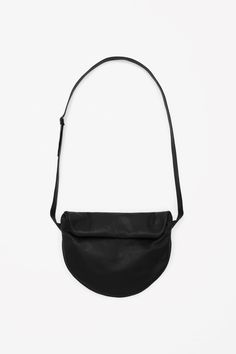 COS | Fold-over leather bag