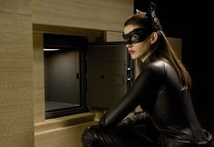 Catwoman can't resist!