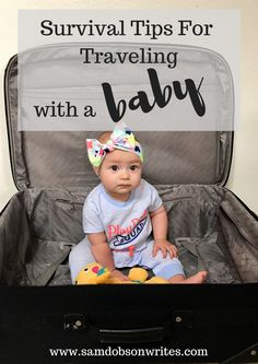 Traveling with a baby doesn't need to be stressful. Best Money Saving Tips, Saving Money, Taking Care Of Baby, Mummy Bloggers, Traveling With Baby, Survival Tips, Baby Car Seats, Parenting, Posts