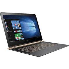 "HP Spectre 13-V011DX 13.3"" FHD IPS Laptop Intel Core i7-6500U 256GB SSD 8GB DDR3L Windows 10 - Black/Copper (Certified Refurbished) //Price: $844.97 & FREE Shipping //     #hashtag4"