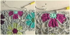 atty's: Catona Flower Shawl Pattern/Tutorial