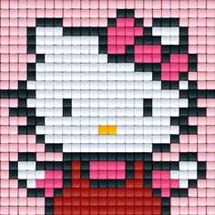 Hello Kitty Pattern | Pixel Party