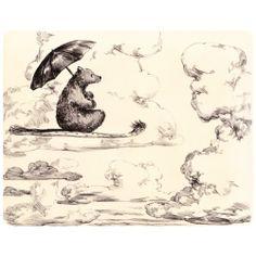 The Flying Bear - Illustration by Elise Hurst