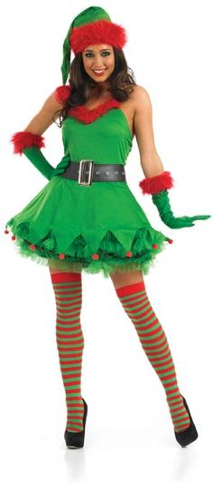 655c628af Wonderful Elf Fancy Dress Outfits – 3 Suggestions For Christmas Elf Costumes  This Year : Elf Fancy Dress Outfits 1