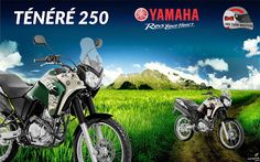 HILTON MOTOS: Ténéré 250. Motor 250cc com tecnologia BlueFlex. N...