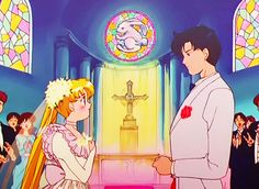 Beautiful blue Sailor Moon silhouette with Luna - In the name of the moon i'll punish you! Sailor Moon Stars, Sailor Moon Manga, Sailor Neptune, Sailor Uranus, Sailor Moon Crystal, Sailor Mars, Sailor Moon Wedding, Sailor Moon Screencaps, Sailer Moon